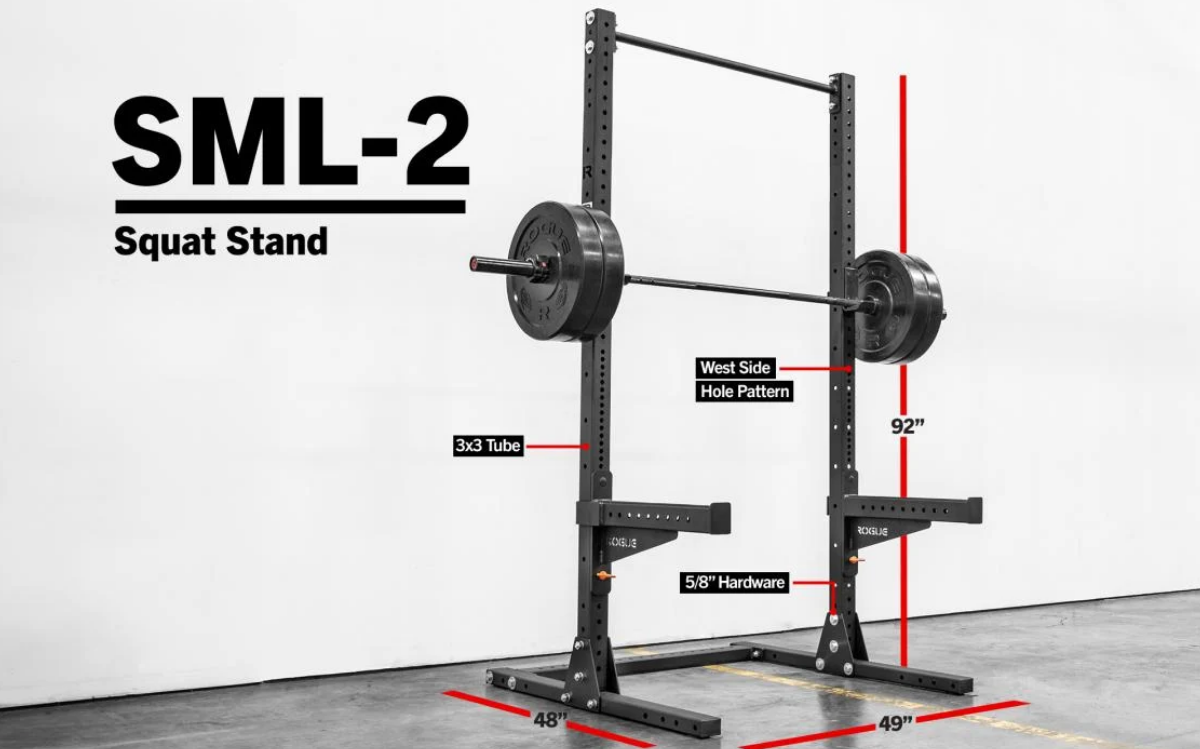 Rogue-SML-2-Monster-Lite-Squat-Stand-detail