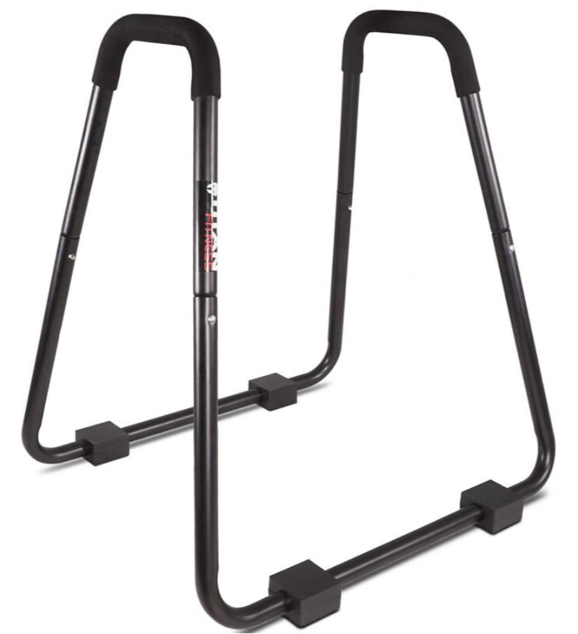 Titan-HD-Dip-Station-Stand-Body-Press-Solid-Foam-Grips